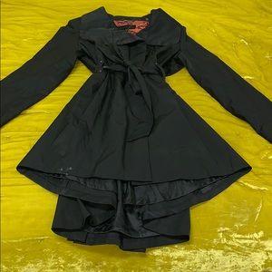 Black Steve Madden Trench Coat